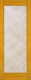 Wood Entry Doors - Interior Doors - Interior Bamboo Silk Glass Door
