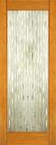 Wood Entry Doors - Interior Doors - Interior Bamboo Waterfall Glass Door