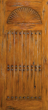 Doors - Wood Entry Doors - Western Plank Wood Door 5
