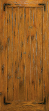 Doors - Wood Entry Doors - Western Plank Wood Door 6