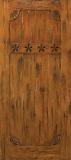 Doors - Wood Entry Doors - Western Plank Wood Door 7