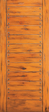 Doors - Wood Entry Doors - Western Plank Wood Door 8