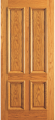 Doors - Wood Entry Doors - Entry 4 Plain Panel Wood Door