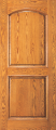 Doors - Wood Entry Doors - Entry 2 Panel Wood Door