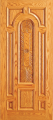 Doors - Wood Entry Doors - Entry Wood Door with Plain Panel