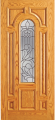Doors - Wood Entry Doors - Entry Wood Door with Lite