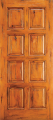 Doors - Wood Entry Doors - Western 8 Panel Wood Door