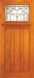 Wood Entry Doors - Entry Arts & Crafts Wood Door 1 - Entry Arts & Crafts Wood Door 1