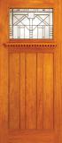 Entry Arts & Crafts Wood Door 1